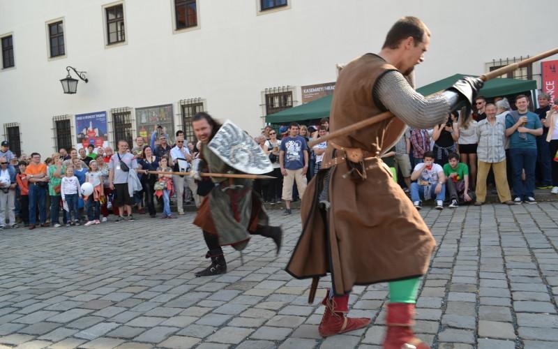 Prvomájové odpoledne 1.5.2014 - Brno, hrad Špilberk