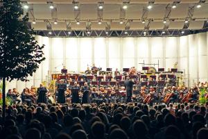 4TET - Symphonic : 4TET a Filharmonie Brno (foto: www.maagdalenka.com 2013)